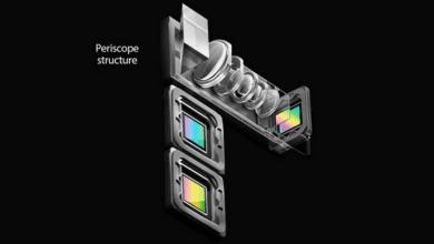 صورة براءة إختراع لشركة شاومي تكشف عن تطوير كاميرة periscope للإصدارات القادمة