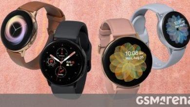صورة تأخرت ميزة تخطيط القلب الكهربائي على Galaxy Watch Active2
