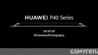 صورة تؤكد دعابة إطلاق Huawei P40 حدوث صدمة هائلة للكاميرا