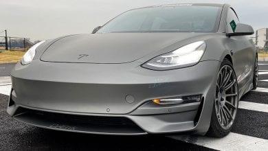 صورة تحول هذه الشركة Tesla's Model 3 إلى وحش ذيل سوبركار