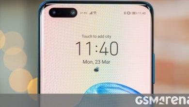 صورة تستخدم تشكيلة Huawei P40 شاشات BOE