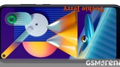 صورة تسريبات Samsung Galaxy M11 من خلال Google Play Console ، كاميرا سيلفي مثقبة