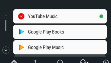 صورة تطبيق YouTube Music يحصل على دعم Android Auto