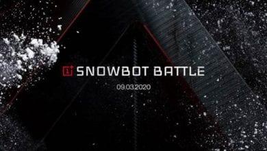 صورة تعلن OnePlus عن Snowbot: روبوت ثلجي مجهز بقدرة 5G يمكنك التحكم فيه