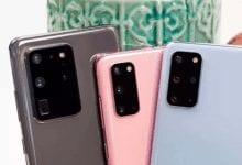 صورة تقرير يشير إلى إنخفاض نسبة مبيعات سلسلة Galaxy S20 عن هواتف Galaxy S10