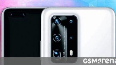 صورة تكشف الشائعات عن الأسعار والتوفر الأوروبي لمجموعة Huawei P40
