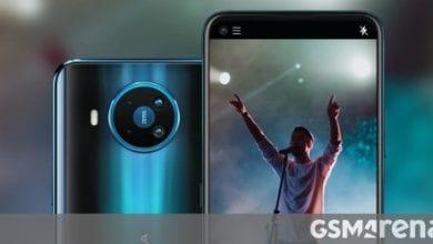 صورة تكشف HMD النقاب عن هاتف Nokia 8.3 5G مع Snapdragon 765G وكاميرا ZEISS الرباعية