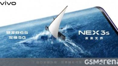 صورة تم تأكيد vivo NEX 3s 5G رسميًا لحزم Snapdragon 865 SoC وكاميرا خلفية ثلاثية