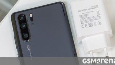 صورة حصلت Huawei P40 و P40 Pro على شواحن بقوة 22.5 واط و 40 واط