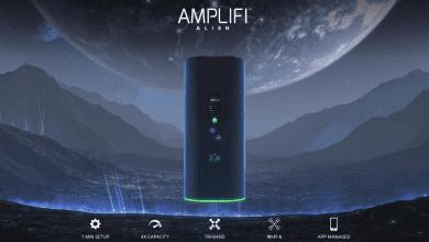 صورة راوتر AmpliFi Alien يدعم معايير تقنية Wi-Fi 6 ويقدم تغطية في نطاق أكبر