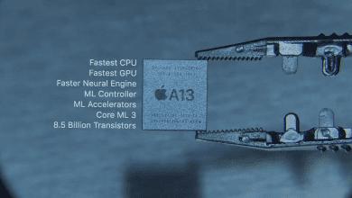 صورة رقاقة معالج A13 Bionic تدعم هواتف الأيفون هذا العام بعمر أطول للبطارية مع آداء أفضل