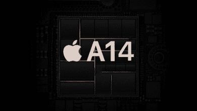 صورة رقاقة A14 القادمة من ابل تدعم هواتف iPhone 12 بآداء على مستوى جهاز MacBook Pro