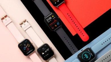 صورة ساعة GTS الذكية من Amazfit تأتي ببطارية تدوم لمدة أسبوعين