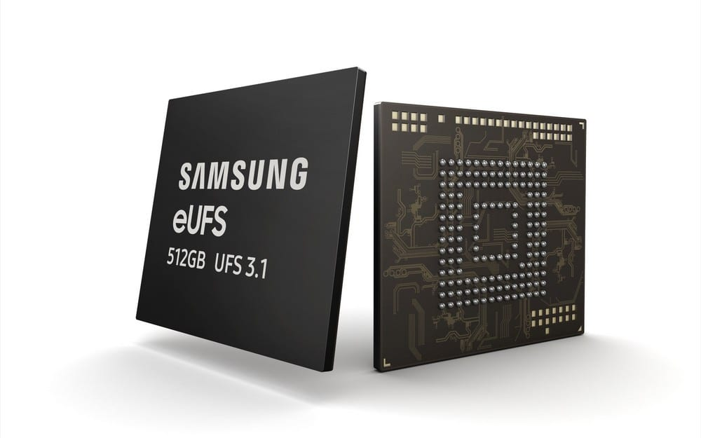 Samsung 512GB eUFS 3.1