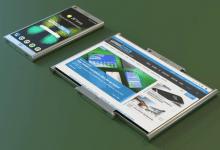 صورة سامسونج تحصل على براءة اختراع لهاتف مميز بشاشة قابلة للتدوير