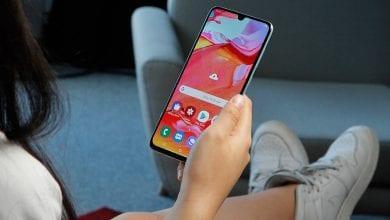 صورة سامسونج تستأنف تحديث Android 10 للهاتف Galaxy A70 بعد سحبه لأسباب مجهولة