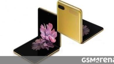 صورة سيتم طرح إصدار Samsung Galaxy Z Flip Mirror Gold للبيع في الهند يوم 20 مارس