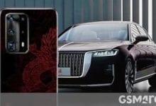 صورة سيحتفل إصدار Huawei P40 Red Flag بسيارة الصين الفاخرة الجديدة