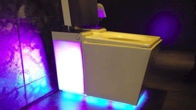 صورة شركةKohler تكشف عن مرحاض Numi 2.0 يدعم مساعد اليكسا بسعر 8000 دولار . #CES2019