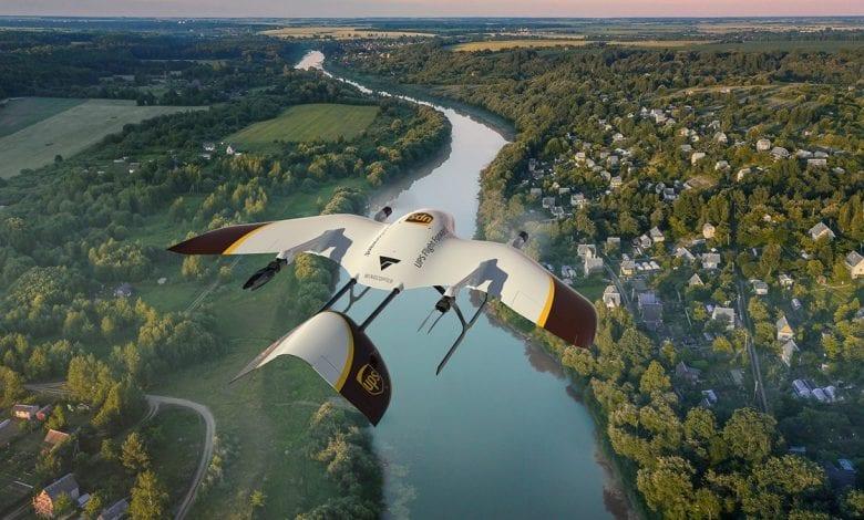 صورة شركة UPS تتطلع إلى تطوير طائرات بدون طيار خالية من الضوضاء
