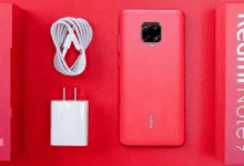 صورة صور مسربة حية لهاتف Redmi Note 9 Pro مع صندوق تغليف الهاتف