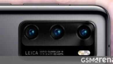 صورة كاميرا Huawei P40 Pro لتحديث مستشعر RYYB ، تكبير أفضل