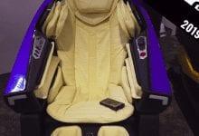 صورة كشفت شركة  BodyFriend عن كرسي التدليك المستوحى من سيارة Lamborghini بسعر 30،000 دولار #CES2019.