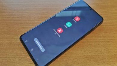 صورة كيفية إيقاف تشغيل أو إعادة تشغيل Samsung Galaxy S20