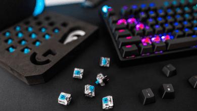 Photo of لوحة مفاتيح Logitech الميكانيكية الجديدة تتميز بتصميم يدعم إستبدال المفاتيح بسلاسة