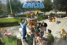 صورة مايكروسوفت تستعرض Minecraft Earth خلال مؤتمر ابل للمطوريين 2019