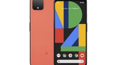 صورة مجموعة Pixel 4 تحتوي على رادار مدمج