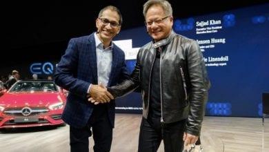صورة مرسيدس وانفيديا يعملان معاً لصناعة الجيل الثاني من سيارات الذكاء الإصطناعي #CES2019