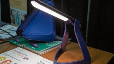 صورة مصباح Lexilight مصمم لمن يعانون من عسر القراءة#CES2020