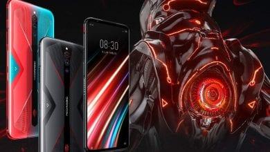 صورة هاتف الألعاب Nubia Red Magic 5G القادم يظهر في ملصق رسمي