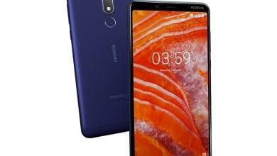 صورة هاتف Nokia 3.1 Plus سيحصل على إصدار Android 9 Pie