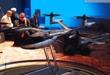صورة هيونداي وUber يعرضان مفهوم سيارات الأجرة الطائرة #CES2020