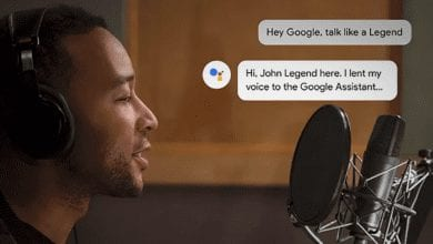 صورة يترك صوت جون ليجند مساعد Google: جربه بينما لا يزال بإمكانك ذلك
