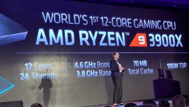 صورة AMD تقدم الجيل الثالث من معالج Ryzen 9 بعدد 12 من الأنوية وبسعر 499 دولار