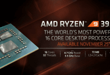 Photo of AMD تكشف عن أسرع معالج لأجهزة الحاسب المكتبي Ryzen 3950X بسعر 749 دولار