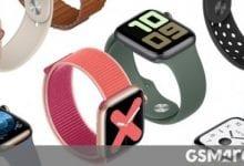 صورة Apple Watch Series 6 للحصول على تتبع النوم الأصلي ومستشعر الأكسجين في الدم
