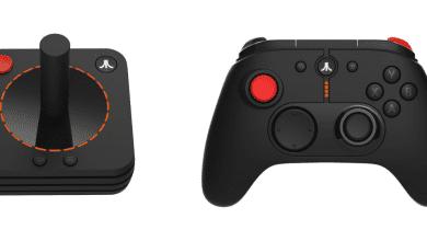 صورة Atari تستعرض التصميم الجديد لوحدات التحكم في الألعاب لمنصة VCS