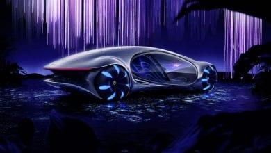 Photo of #CES2020 مرسيدس تكشف عن تصميم مبدئي لسيارة مستوحى من فيلم Avatar