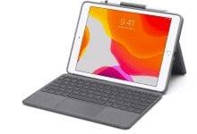 صورة لوحة مفاتيح Logitech المخصصة لجهاز آيباد تأتي بنصف تكلفة لوحة مفاتيح ابل