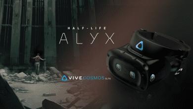 صورة HTC تقدم نظارة Vive Cosmos Elite مع نسخة مجانية من 'Half-Life: Alyx'