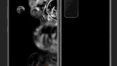 Photo of أول الصور التي توضح الملامح الأولى لتصميم هاتف GALAXY NOTE 20