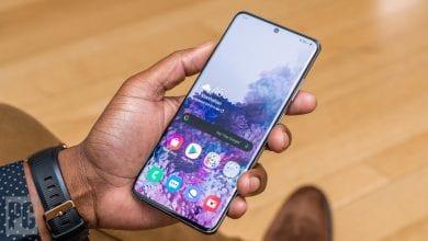 صورة الهاتف Galaxy S21 Ultra سيحتفظ ببطارية 5000mAh، وفقًا لتقرير جديد
