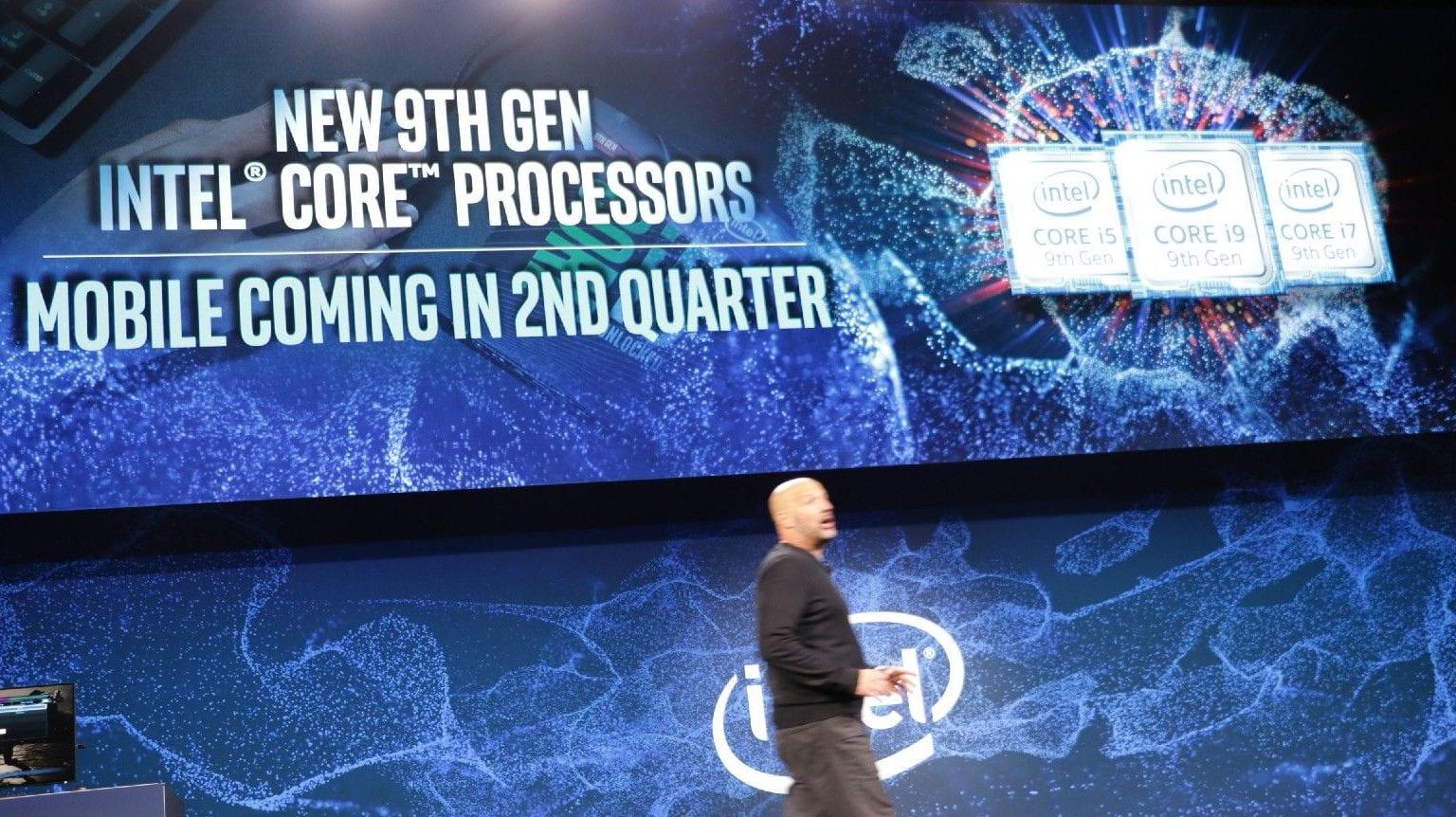 Intel announces six new ninth-generation Core processors