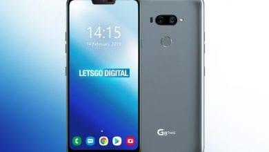 صورة LG تستعد لإضافة إصدار G8s ThinQ إلى مجموعة G8