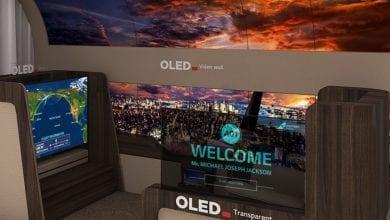 صورة LG تطلق مفهوم جديد لشاشات تلفاز OLED القابلة للطي #CES2020