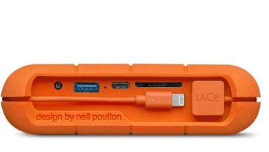 صورة LaCie تقدم ذاكرة Rugged SSD Pro الخارجية بمنفذ USB-C ومعايير IP67